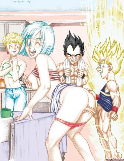 Gay Dbz Trunks Sangoten Hentai